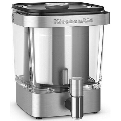 KCM5912SX Cold Brew Coffee Maker, 38 Ounces, Brushed Stainless Steel