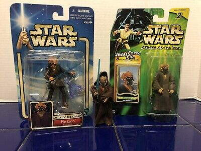 Plo Koon JEDI 2000 Power of the Jedi POTJ Star Wars MOC