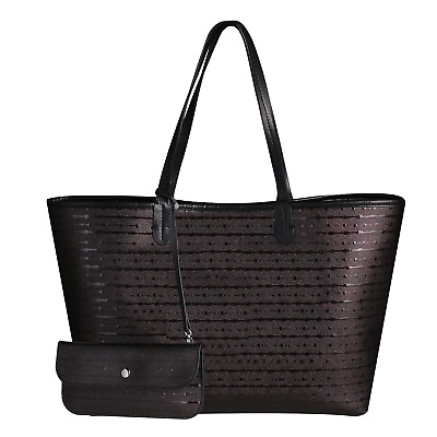Black Women Large Tote Bag Genuine Leather Handbag Bag for Mother Lady Designer
