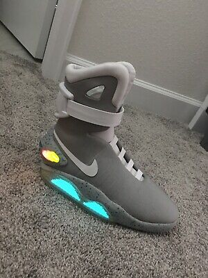 NIKE BACK TO The Future Lebron 14 XIV Mag Marty McFly Men's