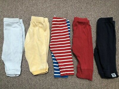5 X Bundle Of Baby Boy Leggings - Joules, Gap, Junior J & Gymborie