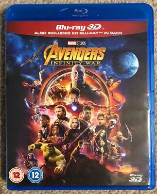 Avengers: Infinity War (Blu-Ray Only / 2018) Please Read!