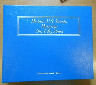 Historic U.s. Stamps Honoring Our Fifty States, Postal Commemorative Society
