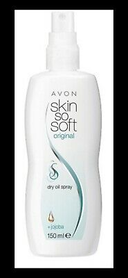 Avon Skin So Soft Original Dry Oil Spray *old Style Bottle*