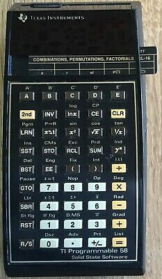 TEXAS INSTRUMENTS TI-66 Programmable Vintage Calculator, Tested
