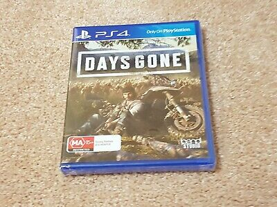 Days Gone playstation 4 ps4 brand new sealed free postage, PAL AU great price
