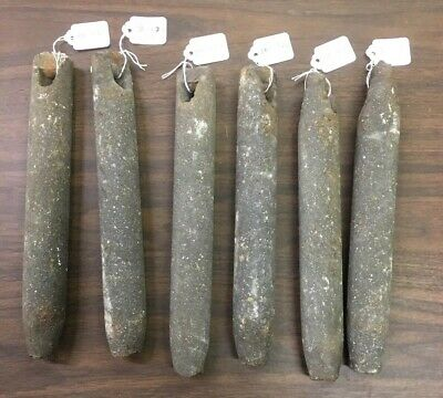 6 Old Cast iron window sash weights balance double hung glass pane pulley rope