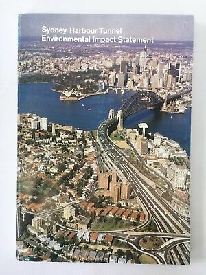 Sydney Harbour Tunnel Environmental Impact Statement November 1986, 125+ pages