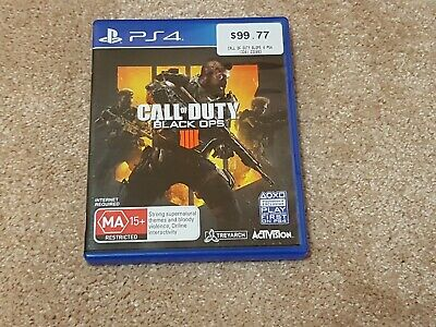 call of duty black ops 4 ps4 Playstation 4 brand new not sealed free post