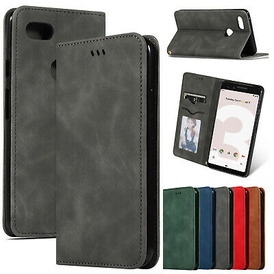 For Google Pixel 3a 3a XL 3 Magnetic Leather Card Wallet Flip Phone Case Cover