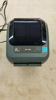 NEW OPEN BOX Zebra ZP450 ZP 450 Direct Thermal Shipping Label Tag