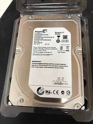 Seagate BarraCuda XT ST33000651AS 3TB 7200 RPM 64MB Cache SATA 6.0Gb/s 3.5""
