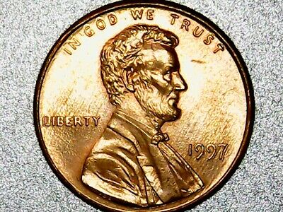 1997 Double Die Obverse/Reverse Lincoln Cent Penny, Error Coin!