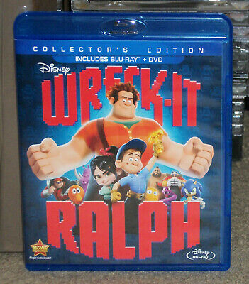 Wreck-It Ralph Blu-ray + DVD Genuine Disney