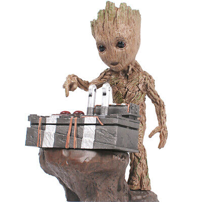 """New 9.2"""" Guardians of The Galaxy Vol 2 Cute Groot Pressed Bomb Figure Gift"""