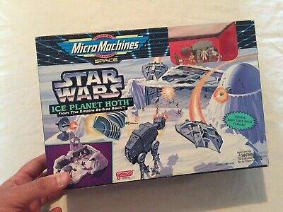 VINTAGE 1996 Galoob MICRO MACHINES Ice Planet Hoth Playset in BOX Unopened