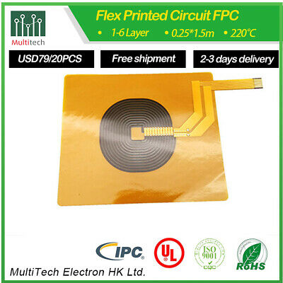 low cost quick turn prototype FPC Rigid-Flex PCB by multitechmanufacturer China
