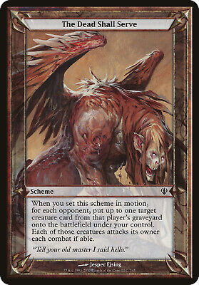 Nature Demands An Offering Archenemy PLD Common MAGIC GATHERING CARD ABUGames