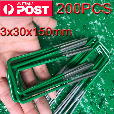 Heavy Duty Anchor Pins Pegs for Weed Mat Turf Pins Pegs Lawn Tent Peg Pins OZ