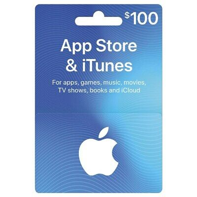 $100 Apple iTunes Gift Card (Email only)