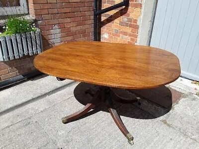 Circular Mahogany Victorian Tilt Top Circular Table