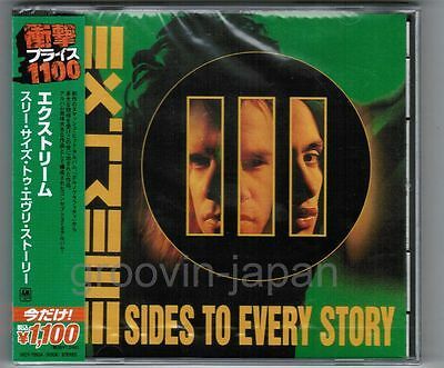 Sealed EXTREME III Sides To Every Story JAPAN CD UICY-75534 2013 LTD w/OBI FreeS