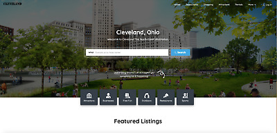 Cleveland.info - Website for sale & premium domain name. Business directory