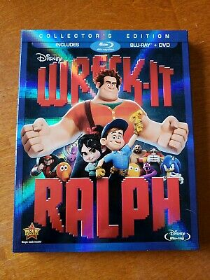 Wreck-It Ralph Blu-ray w/ Slipcover