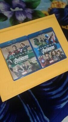 Avengers Age Of Ultron And Avengers Bundle Set Blu Ray No Digital Copy