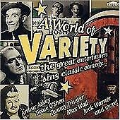 A World of Variety - Great Entertainers sing Classic Comedy (CD)