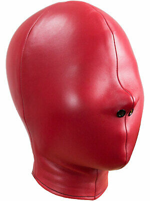 Inflatable latex hood suffocating gummi rubber mask Optional color and size