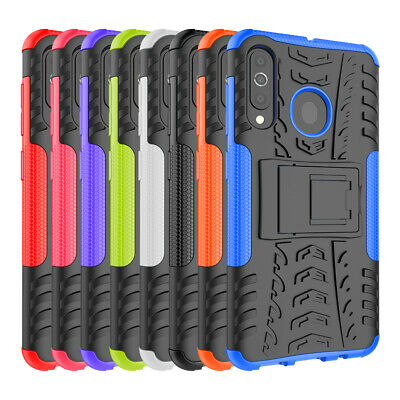 Rugged Hybrid Armor Shockproof Hard Case Kickstand Cover For Samsung Galaxy A60