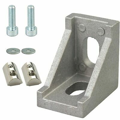 L-Shaped Corner Joint Bracket for 2020 T-Slot Aluminium Profiles