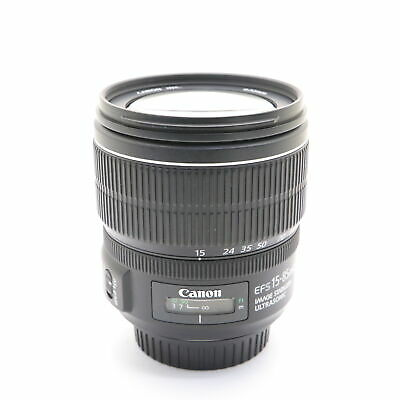 Canon EF-S 15-85mm F3.5-5.6 IS USM -Near Mint-