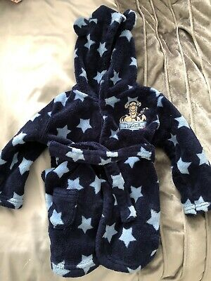 Blue Stars Tigger Dressing Gown 6-9 Months