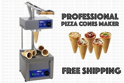 Profesional Small Business Comercial Pizza Cono Formar Hacer Máquina