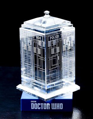 Doctor Who CLASSIC TARDIS Crystal BBC licensed