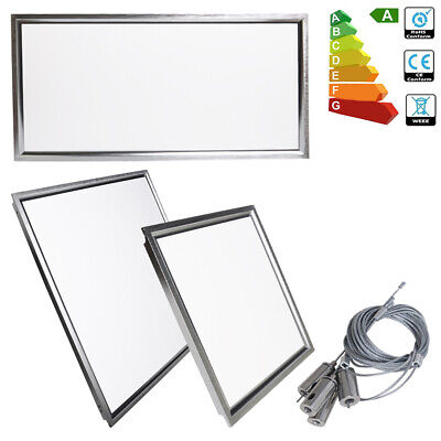 5/2/1x LED Ceiling Panel Light 300x300 / 600x300 / 600x600mm Recessed/Suspended