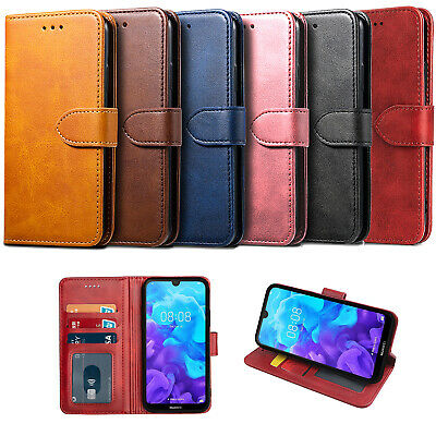 Case For Honor 8S KSE-LX9 Wallet Leather Flip Book Cover Protective + Stylus