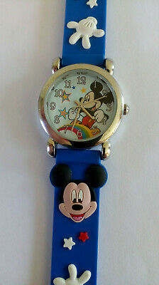 New Mickey Mouse Disney Time Concepts Watch Seiko Movt New Battery