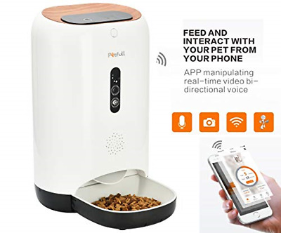 Petfull Smart Auto Pet Feeder with WiFi App Control HD-Camera Infrared for Dog