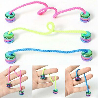 ZR Zirconium Begleri Knucklebone Finger Skill Paracord Stress Worry Fidget Toy