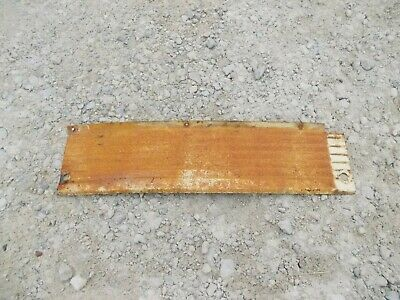 Farmall 340 RC Tractor IH left rear side hood white cover panel