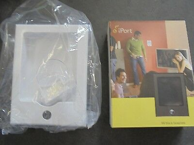 NEW IN BX   iPort IW In-Wall WHITE Faceplate for iPod Docking Station 70020