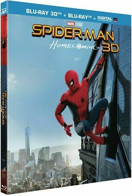 Blu Ray 3D + 2D : Spider-Man Homecoming + Version 2D - NEUF
