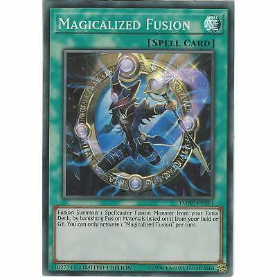 Magicalized Fusion DANE-ENSE4 - Super Rare Card Limited Edition - Yu-Gi-Oh! TCG