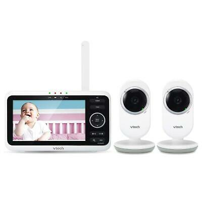 VTech Video Baby Monitor with 2 Cameras, SM8252-2 - NEW
