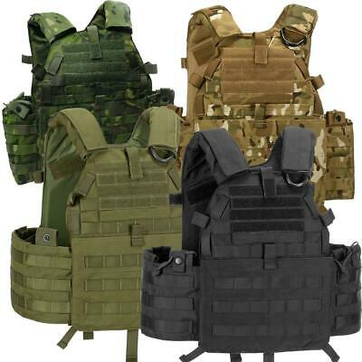 Invader Gear 6094A-RS Plate Carrier Assualt Vest Molle Airsoft Softair Tactical