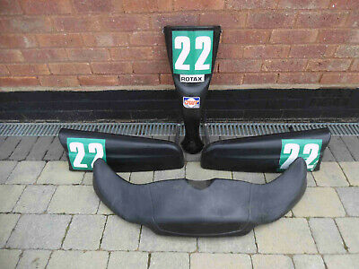 Go kart bodywork set & bars / very clean set / Go Kart