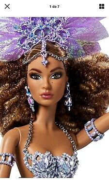 2016 Barbie Global Glamour Collection Luciana Doll Gold Label Limited Edition